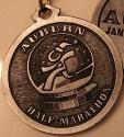 Auburn Half Marathon Medal 2009