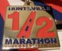 Huntsville Half Marathon Medal 2010