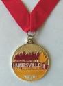 Huntsville Half Marathon Medal 2011