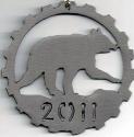 Bearfest Half Marathon Medal 2011