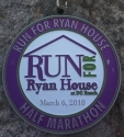 Run for Ryan House Medal 2010