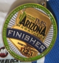 IMS Arizona Half Medal 2011