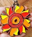 Fiesta Bowl Half Marathon Medal 2009