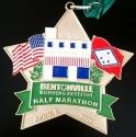 Bentonville Half Marathon Medal 2011