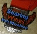 Soaring Wings Half Marathon Medal 2011