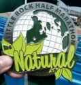 Little Rock Half Marathon Medal 2010
