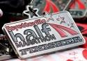 Fayetteville Half Marathon Medal 2011