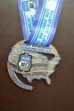 13.1 Los Angeles Half Marathon Medal 2013