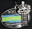 Kaiser Permanente Half Marathon Medal 2011