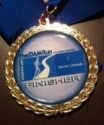 That Dam Run Half Marathon Medal 2011