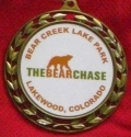 The Bear Chase Half Marathon Medal 2010