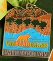 The Bear Chase Half Marathon Medal 2011