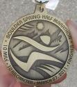 Boulder Spring Half Marathon Medal 2011