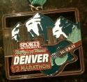 Denver RnR Half Marathon Medal 2011