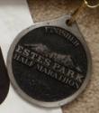Estes Park Half Marathon Medal 2011