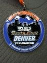 Denver RnR Half Marathon Medal 2012