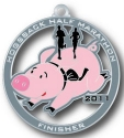 Hogsback Half Marathon Medal 2011