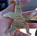 Florida Beach Halfathon Half Marathon Medal 2011