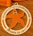 Florida Halloween Halfathon Half Marathon Medal 2011