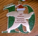 Florida Holiday Halfathon Half Marathon Medal 2011