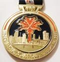 Miami Half Marathon Medal 2011