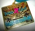 Iron Girl Half Marathon Medal 2011