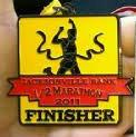 Jacksonville Half Marathon Medal 2011