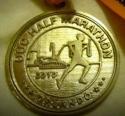 OUC Half Marathon Medal 2010