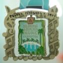 Melbourne & Beaches Music Half Marathon Medal 2012