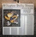Naples Daily News Half Marathon Medal 2009