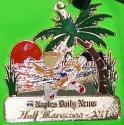 Naples Daily News Half Marathon Medal 2011