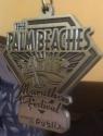 Palm Beaches Half Marathon Medal 2011