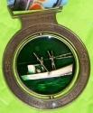 Running For the Bay Half Marathon Medal 2011