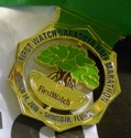Sarasota First Watch Half Marathon Medal 2010
