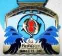 Sarasota First Watch Half Marathon Medal 2011