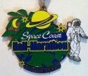 Space Coast Half Marathon Medal 2010