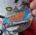 Daytona Beach Half Marathon Medal 2011