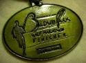 Baldwin Park Half Marathon Medal 2010