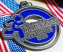 Blue Moon Half Marathon Medal 2011