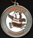 Hooters Half Marathon Medal 2012