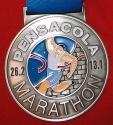Pensacola Half Marathon Medal 2010