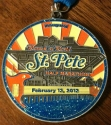 Rock and Roll St. Pete Half Marathon Medal 2012