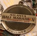 Atlanta Half Marathon Medal 2010