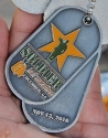 Soldier Half Marathon Medal 2010