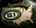 13.1 Atlanta Half Marathon Medal 2011