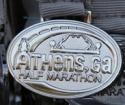 Athens Half Marathon Medal 2011