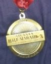 Atlanta Half Marathon Medal 2011