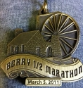 Berry Half Marathon Medal 2011