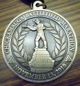 Chickamauga Battlefield Half Marathon Medal 2010