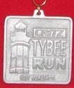 Critz Tybee Half Marathon Medal 2011